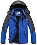 TACVASEN Mountain Jacket Mens Fleece Climbing Snow Ski Jacket Winter Snowboarding...