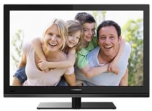 Thomson 24FT4253/G 61 cm (24 Zoll) LED-Backlight-Fernseher (Full HD, DVB-C/-T, CI+, 2x HDMI, USB 2.0, Hotelmodus) schwarz