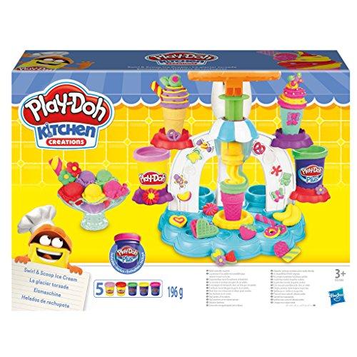 Preisvergleich Produktbild Hasbro Play-Doh B0306EU8 - Eismaschine, Knete