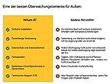 HiKam A7 Überwachungskamera für Außenbereich fehlalarmfrei mit Personendetektion | kostenlose Cloud-Speicherung in Deutschland | WLAN IP Kamera HD Outdoor | Datensicherheit mit deutscher Server App Anleitung Support - 3
