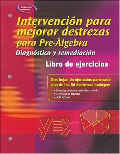Skills Intervention for Pre-Algebra: Diagnosis and Remediation, Spanish Student Workbook (Merrill Pre-Algebra) por Mcgraw-Hill Education
