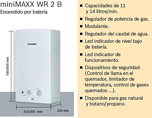 Junkers MiniMaxx WR 11 2KB - Calentador