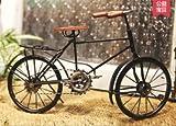 Vintage Decoración Retro Bicicleta Hierro Artesanía Muebles Bar Creativo Bicicleta Arte
