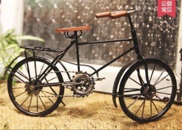 Vintage Decoración Retro Bicicleta Hierro...