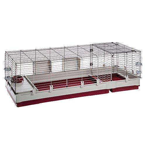 Ferplast Krolik 160 Cage pour Petit Animal Bordeaux 162 x 60 x 50