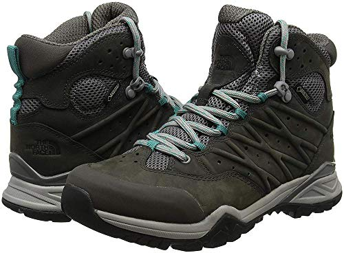 The North Face W HH Hike II MD GTX, Stivali da Escursionismo Alti Donna, Grigio (Q/Silver Grey/Porcelaingrn 4Fz), 36 EU