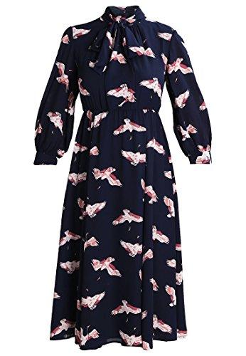 MINT&BERRY Freizeitkleid Kleid Damen navy blazer Grösse 36