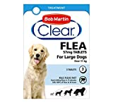 Best Dog Fleas - Bob Martin Flea Tablets for large Dogs over Review