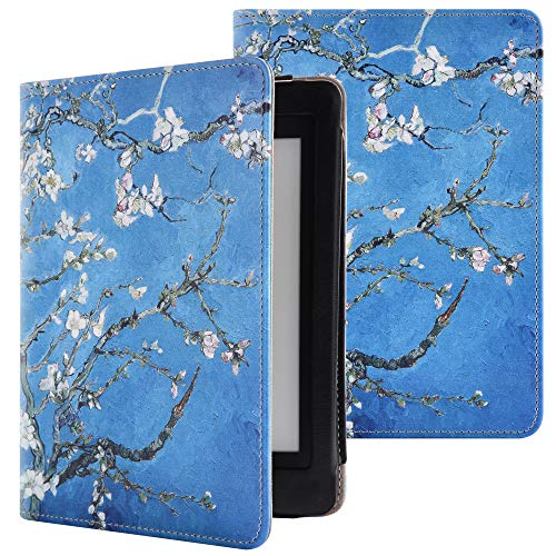 YuanZhu Kindle Paperwhite Smart Cover a Libro, in Custodia a Libro Compatibile con Kindle Paperwhite 15,2cm e-Reader (Adatta per Tutte Le Generazioni di Kindle Paperwhite)