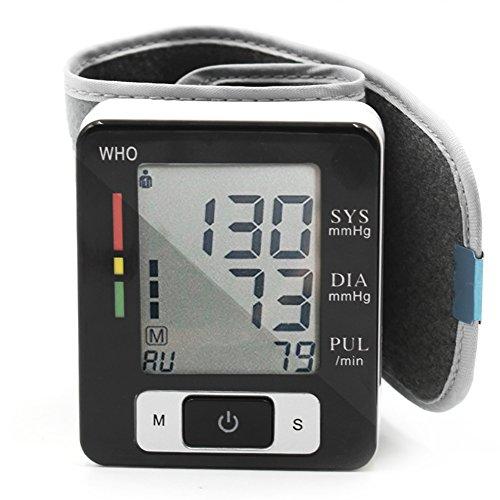 Mermaid Digitale Handgelenk-Blutdruckmessgerät Vollautomatische für Eine Präzise Blutdruckmessung Warnfunktion bei Möglichen Herzrhythmusstörungen