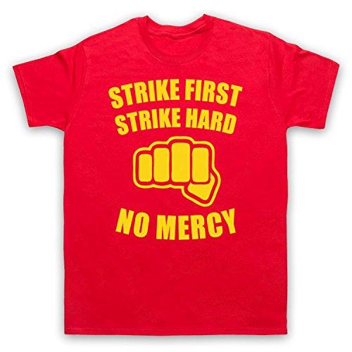 Inspiriert durch Karate Kid No Mercy Unofficial Herren T-Shirt Rot