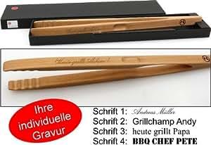 grillzange zetzsche 46 cm lang mit geschenk verpackung und. Black Bedroom Furniture Sets. Home Design Ideas
