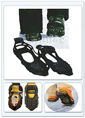 SNOW ANTI SLIP ICE GRIPPERS FOR BOOTS SHOES GRIPS OVERSHOE SMALL MEDIUM LARGE