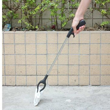 Extra Long Arm Extension Reacher Grabber Easy Reach Pick Up Tool, 24-inch (Black)