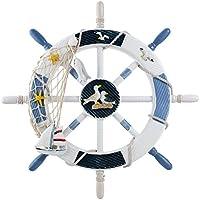 WINOMO Décor náutico volante de barco náutico de la decoración de pared con ...