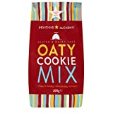 Delicious Alchemy Gluten and Dairy Free Oat Cookie Mix 200 g (Pack of 6)