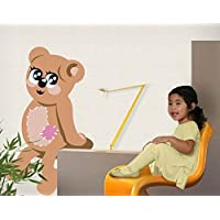 Apalis Wall Decal no.CA11 Your Own Words My Little Teddy, Dimensions:197cm x 120cm