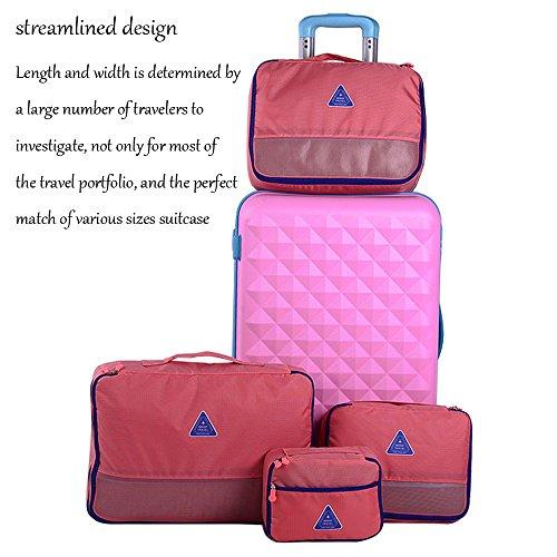 ANNE , Damen Kofferorganizer Gr. One Size, rosarot