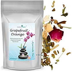 Ayurvedischer Kräutertee Grapefruit-Orange (100 Gramm)