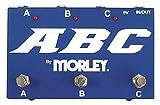 Morley ABC Boîtier Routeur pour Guitare/Amplificateur 3 canaux