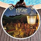 MFINOTshirt Blackmore's Night Telo da Mare Microfibra Asciugamano Telo Fitness Ideale per La Sauna Yoga Nuoto Benessere L'escursionismo