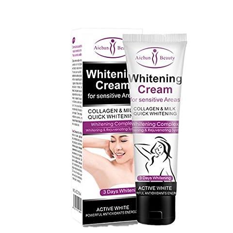 Body Whitening cream Get Rid of Dark Armpit/Inner thigh/Elbow/Knee Fast Lanspo (A)