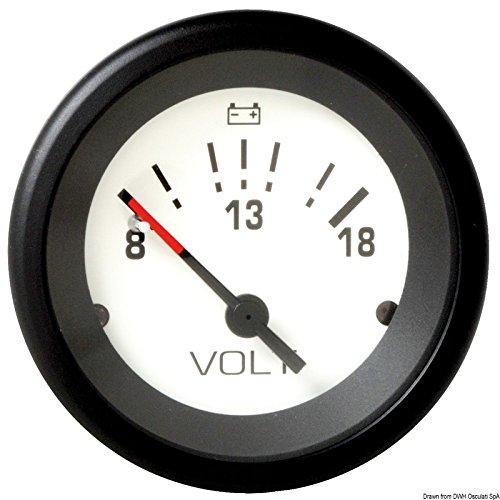 Voltmeter 8/18V Teleflex - Teleflex Voltmeter