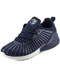 DeVEE Star Alfa Rebound Men's Navy Comfort Fit Running Sport Shoe