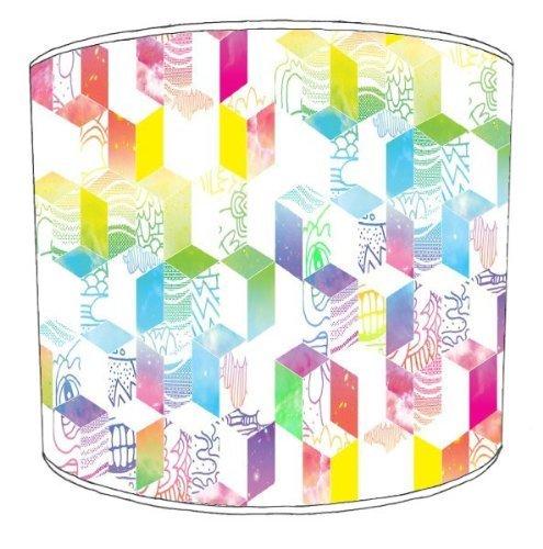 Premier Lampshades-Lampada da soffitto, modello Illusion Blocks