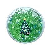 Webla Noël Cristal Boue Décompression Jouet Éducatif Boue Noël Slime Parfumée Charme Doux Boue Soulagement du Stress Enfants Jouets Argile Noël