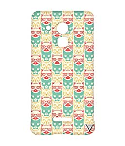 Vogueshell Cat Faces Printed Symmetry PRO Series Hard Back Case for Coolpad Note 3