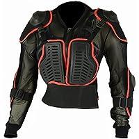 Chaqueta con protecciones en codos, hombros, espalda y pecho para motocross para niños, protección corporal - 32