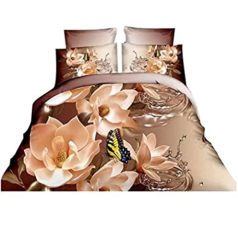 3 D Printing Bedding Four Sets,Kaiki 4 Pcs Bed Linen
