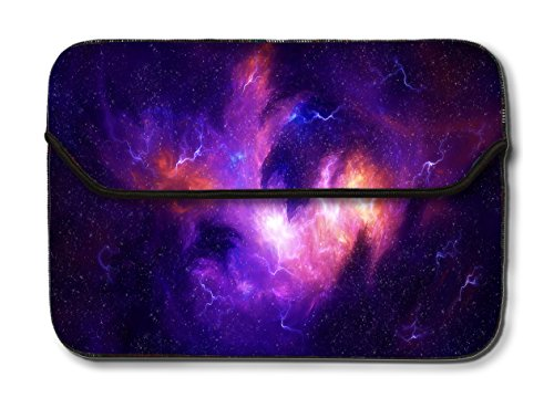 Theskinmantra 13-13.3 inch Galaxy Laptop Sleeve Case Bag for Apple MacBook/MacBook Air/MacBook Pro/Surface Book/Notebook Computer (Multicolor)