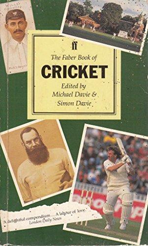 The Faber Book of Cricket por Michael Davie