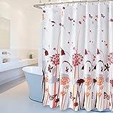 ZHAS Duschvorhang Polyester Wasserdichte Shelter schimmelige Dicke Multi-Optionale Hochwertiger Duschvorhang (Breite * Höhe) (Größe: 300 cm * 200 cm)