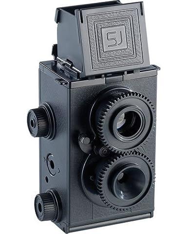 Somikon appareil photographique reflex double objectif à monter soi-même