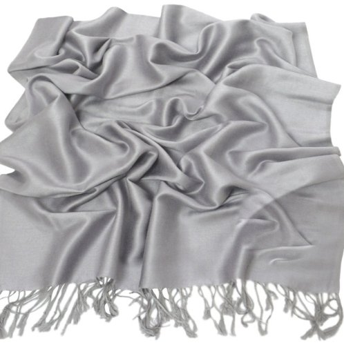 CJ Apparel Solid Colour Shawl Pashmina Scarf Wrap Shawls Pashminas Scarves (60+ colours) NEW