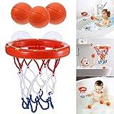 Dastrues Kleinkind Badespielzeug Kinder Basketballkorb Badewanne Wasser Spielset für Baby Girl Boy