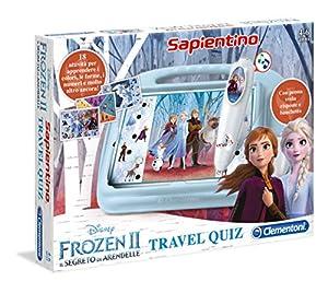 Clementoni - Sapientino Travel Quiz-Disney Frozen 2,, 16186