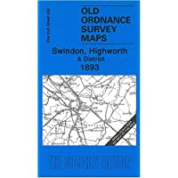 Swindon, Highworth and District 1893: One Inch Sheet 252 (Old Ordnance Survey Maps - Inch to the Mile) by Barrie Trinder (2008-06-26)
