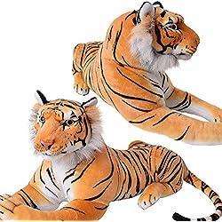Peluche Animal salvaje Grandes felinos Peluche Leopardo Tiger Panther Diseños y Tallas - Tigre 17876