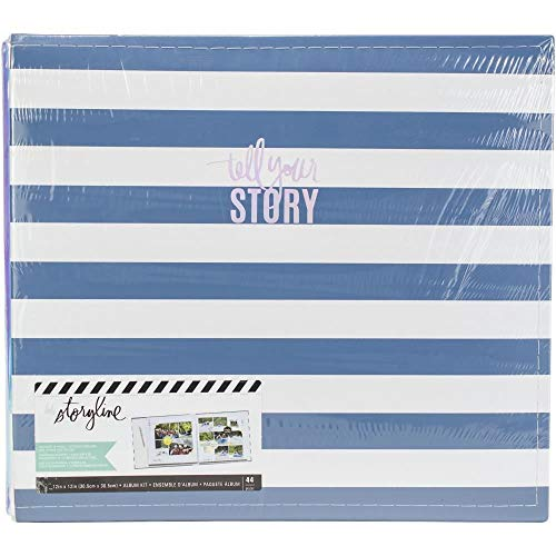 Heidi Swapp misto Scrapbook Album Kit 9X11.5-cartoncino memoria i file multimediali