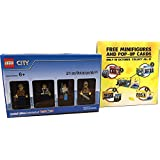 Lego Lego City Limited Edition Exclusively At ToysRus Lego City Minifig 4 Pieces Toys 'R Us' Limited Set