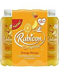 Rubicon Spring Orange Mango Flavoured Sparkling Spring Water, 12 x 500 ml