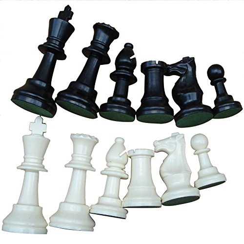 Juego de piezas de ajedrez de torneo (Medium-64mm)