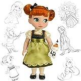 Disney officiel Frozen 40cm Anna Animator Toddler Doll Avec Olaf accessoires