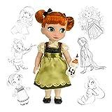 Offizielle Disney Gefrorene 40cm Anna Animator Kleinkind Puppe Mit Olaf Zubehör