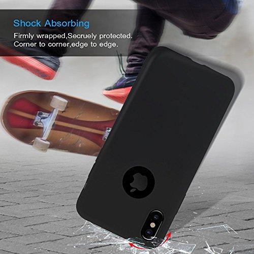 8x Cover iPhone 7 Silicone Custodia Morbido TPU Opaco - MAXFE.CO