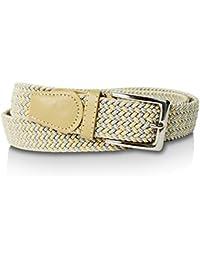 glamexx24Unisex–Tela elástica cinturón de entrelazado Stretch Cinturón elástico Cinturón para hombre y mujer
